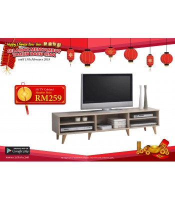 TV CABINET 5FT JJ3062