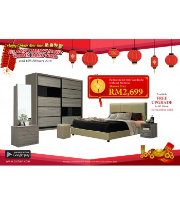 BEDROOM SET RS153
