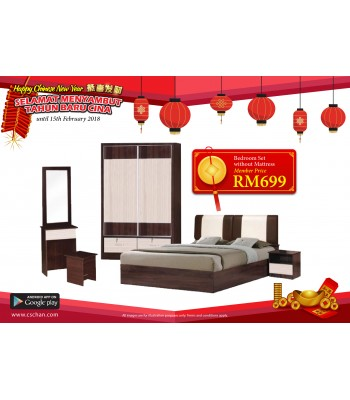 BEDROOM SET WS111809